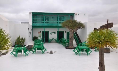 Zdjecie HISZPANIA / Wyspy Kanaryjskie / Lanzarote / Architektura na Lanzarote