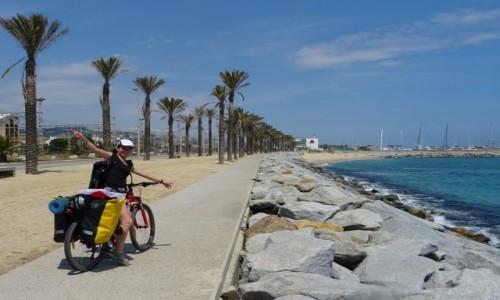 HISZPANIA / Katalonia / Costa del Maresme /  Na rowerze po Katalonii