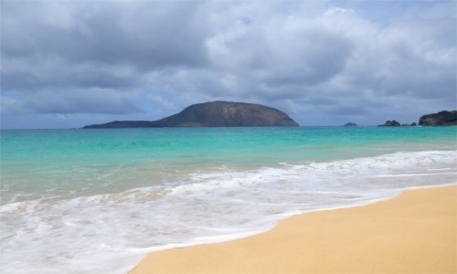 HISZPANIA / Wyspy Kanaryjskie / La Graciosa / Widok na wyspę Montaña Clara