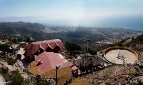 Zdjecie HISZPANIA / Costa del Sol. / Benalmadena. / Benalmadena - widok ze szczytu Calamorro