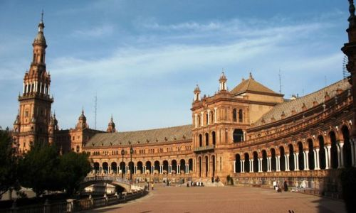 Zdjecie HISZPANIA / Andaluzja / Sewilla / Plaza de Espana