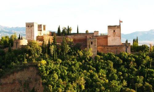 Zdjecie HISZPANIA / Andaluzja / Granada / Alhambra czesc