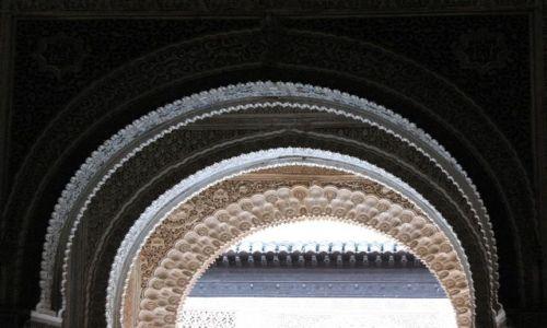 Zdjecie HISZPANIA / Andaluzja / Granada / Alhambra od środka