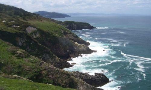 Zdjecie HISZPANIA / Gipuzkoa / Okolice San Sebastian / Wybrzeże Zatoki Biskajskiej