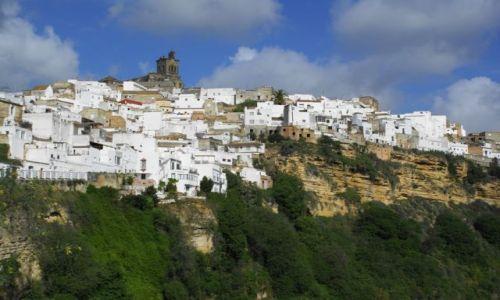 Zdjęcie HISZPANIA / Andaluzja / Arcos de la Frontera / Widok na miasto
