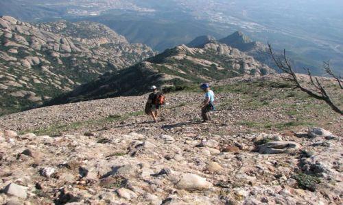 Zdjęcie HISZPANIA / CATALUNA / masyw górski w Katalonii  / Montserrat