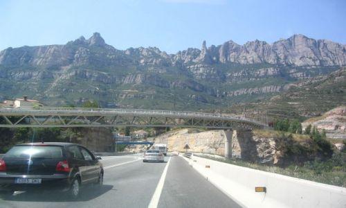 Zdjecie HISZPANIA / Barcelona / montserat / ładne skałki Montseratu