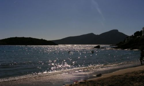 Zdjecie HISZPANIA / Majorka / plaża / wieczorkiem...