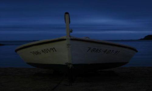 Zdjęcie HISZPANIA / COSTA BRAVA / CALELLA / łódeczka