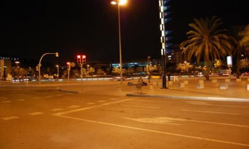 Zdjecie HISZPANIA / Barcelona / Barcelona / Ulice