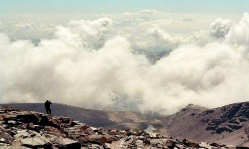 Zdjecie HISZPANIA / Gory Betyckie / Sierra Nevada / Widok z Mulhace