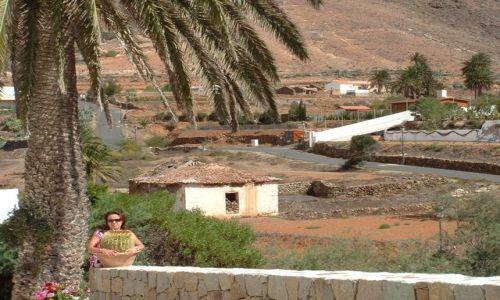 Zdjecie HISZPANIA / Wyspy Kanaryjskie / Fuerteventura / Betancuria - w samym centrum wyspy