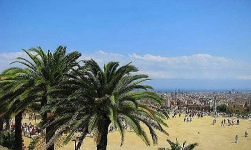 Zdjecie HISZPANIA / brak / Barcelona / Park Guell
