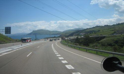 Zdjecie HISZPANIA / Cantabria / Autovia Cantabrico / Widok na Atlantyk