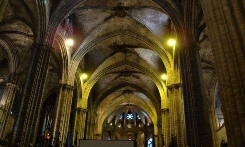 Zdjecie HISZPANIA / Catalonia / Barcelona / Katedra