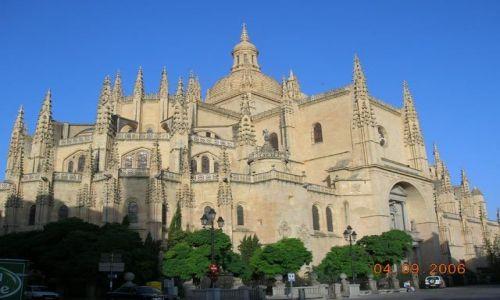 HISZPANIA / Kastylia - Leon / Segovia / Katedra
