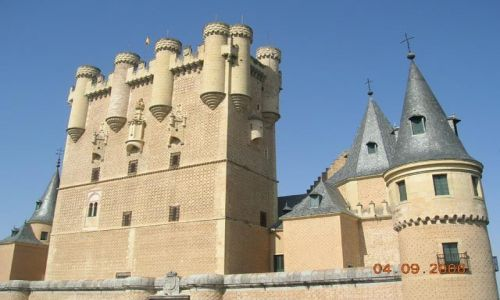 HISZPANIA / Kastylia - Leon / Segovia / Zamek Alkazar