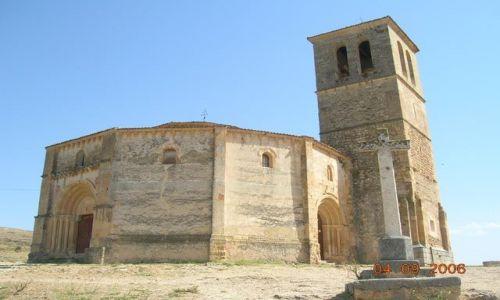 HISZPANIA / Kastylia - Leon / Segovia / Kościół Templariuszy-Vera Cruz