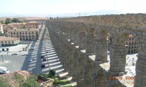 HISZPANIA / Kastylia - Leon / Segovia / Akwedukt