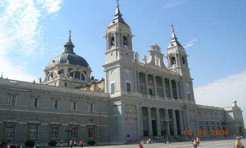 HISZPANIA / brak / Madryt / Katedra de Nuestra