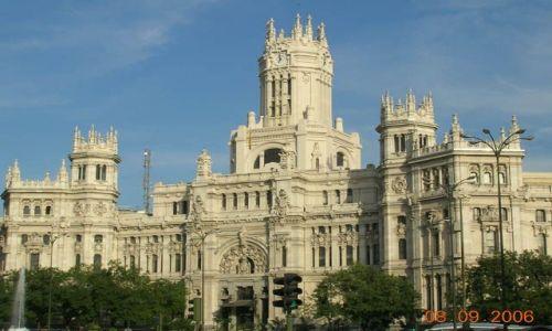 Zdjęcie HISZPANIA / brak / Madryt / Budynek Poczty Głównej