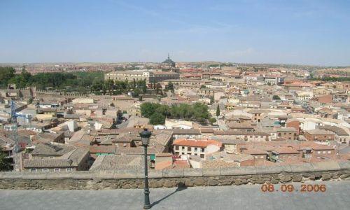 Zdjęcie HISZPANIA / -Kastylia - La Mancha / Toledo / Panorama