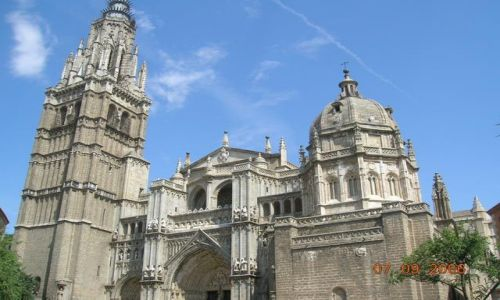 HISZPANIA / -Kastylia - La Mancha / Toledo / Katedra