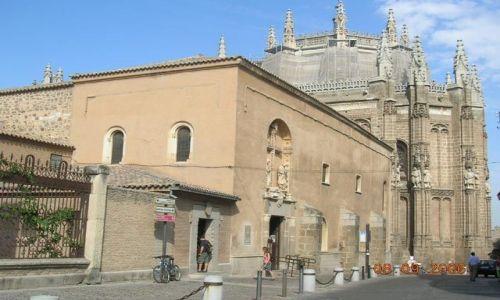 Zdjęcie HISZPANIA / -Kastylia - La Mancha / Toledo / Kościół San Juan de  los Reyes