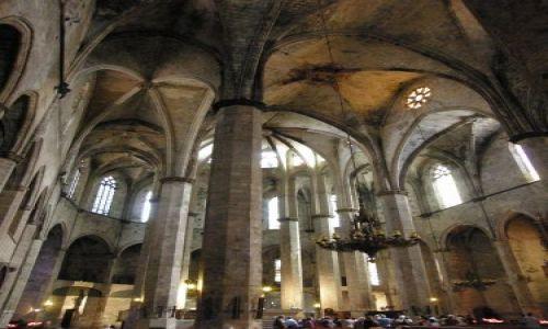 Zdjecie HISZPANIA / Katalonia / Barcelona / bazylika Santa Maria del Mar