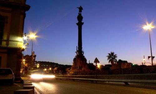 Zdjecie HISZPANIA / brak / Barcelona / Barca by night