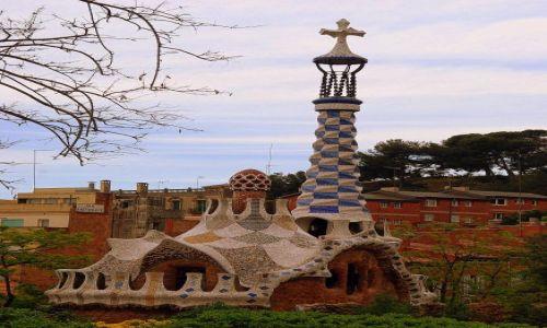 Zdjecie HISZPANIA / Katalonia  / Barcelona  / W Parku Guel