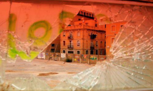 Zdjęcie HISZPANIA / Katalonia  / Barcelona  / Inna Barcelony Twarz