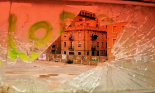 Zdjecie HISZPANIA / Katalonia  / Barcelona  / Inna Barcelony Twarz