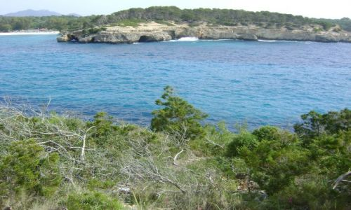 Zdjęcie HISZPANIA / Majorka / Cala Mondrago / Zatoka Mondrago!