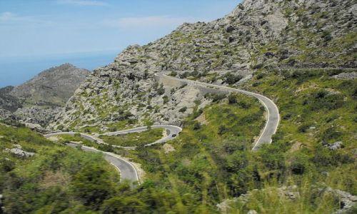 Zdjecie HISZPANIA / Majorka / Sierra de Tramuntana / pzrejazd przez Góry Sierra deTramuntana