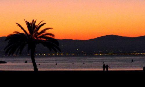 Zdjecie HISZPANIA / Majorka / S'Arenal / zachód słońca
