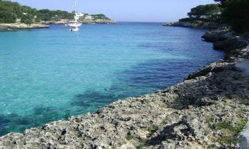 Zdjecie HISZPANIA / Majorka / Cala D'Or / Niebieska zatoczka