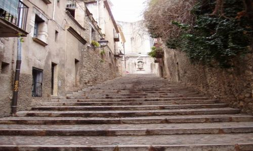 Zdjecie HISZPANIA / Katalonia / Girona / zakamarki Girony