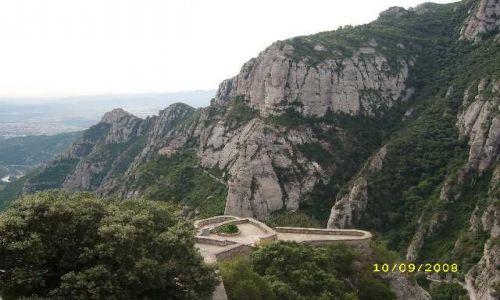 Zdjecie HISZPANIA / Katalonia / masyw górski Montserrat / Montserrat