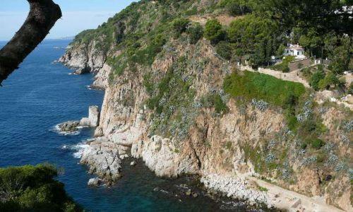 Zdjecie HISZPANIA / Katalonia / Tossa de Mar / Wybrzeże costa