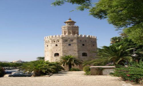 Zdjecie HISZPANIA / Andaluzja / Sevilla / Torre del Oro