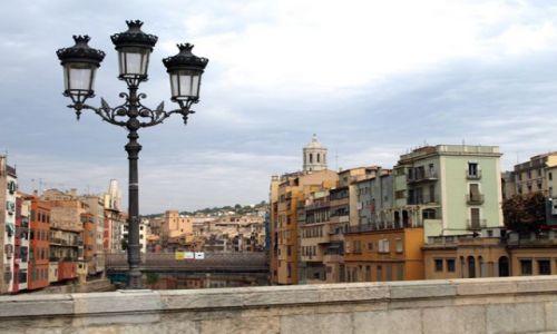 Zdjecie HISZPANIA / Katalonia / Girona / Na moście