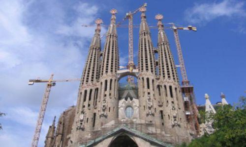 Zdjecie HISZPANIA / brak / Barcelona / Familia Sagrada