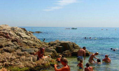Zdjecie HISZPANIA / COSTA BRAVA / SANTA CRISTINA / I oto ona:)sielska plaża