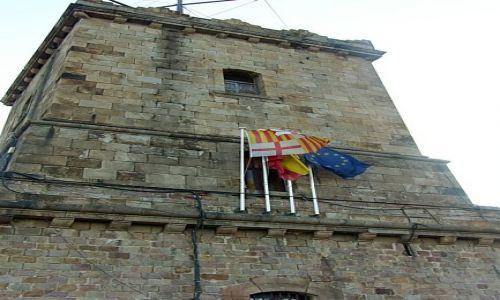 Zdjecie HISZPANIA / Barcelona / Wzgórze Montjuic / Wieża basztowa zamku
