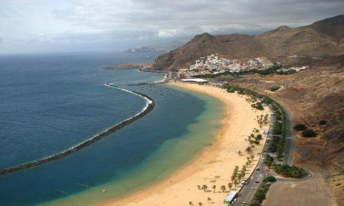 Zdjecie HISZPANIA / brak / Teneryfa / Playa de las Teresitas