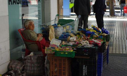 Zdj�cie HISZPANIA / Andaluzja / Sevilla / uliczna sprzedawczyni