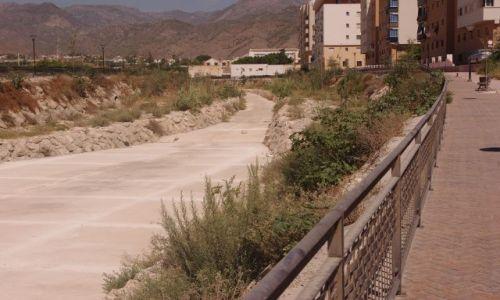 Zdjecie HISZPANIA / Andaluzja / Malaga / betonowa rzeka