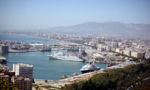 Zdjecie HISZPANIA / Andaluzja / Malaga / panorama Malagi