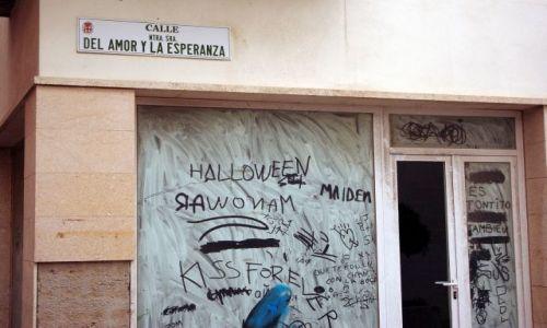 Zdjęcie HISZPANIA / Andaluzja / Almeria / ulica miłości i nadzieji